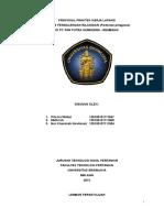 Proposal PKL Rajungan