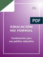 Educación NO FORMAL_Dossier Uruguay