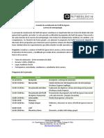 Programa Jornada Antropología 20 de Noviembre 2014