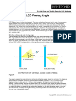 LCD Viewing Angle