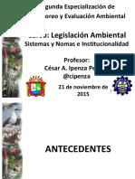 II. 2 Principios Sistemas Normas Institucionalidad