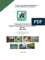 Evaluacion Del Sistema de Areas Protegidas