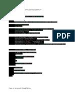 actualizare tabelul CLIENTI