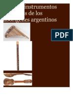Algunos Instrumentos de Los Pueblos Aborígenes Argentinos