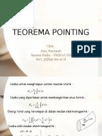 Teorema Pointing