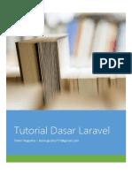 Tutorial Dasar Laravel 2