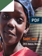 Konbit Sante Annual Report 2015