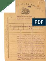 Telegrama 1954 de MG
