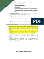 LP VII Revisão I Semestre 1a. Aula