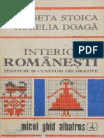 Interioare Romanesti - Tesaturi Si Cusaturi Decorative (1)