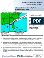 Tropical Storm Colin Update