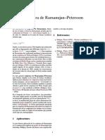 Conjetura de Ramanujan–Petersson