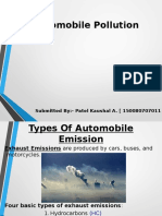 Automobile Pollution