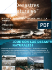 KARIME - DESASTRES NATURALES