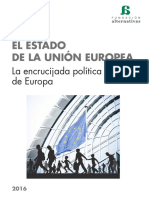 EL ESTADO DE LA UNION EUROPEA 2016