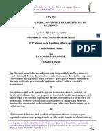 Ley 835 Ley de Turismo Sostenible