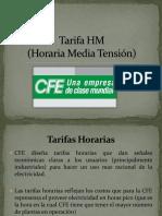 Tarifa HM