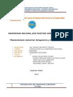 Mantenimiento-reingenieria y Globalizacion