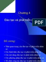 Chuong 4 Dao tao va phat trien nhan su