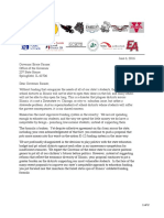Superintendents' Letter