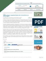 – Cofen estuda a regulamentação dos Consultórios de Enfermagem Conselho Federal