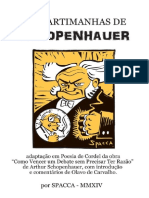 Shopenhauer Em Cordel Spacca