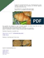 Croissant Con Lievito Liquido e Ldb