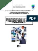 Informatica en Desarrollo Del Software