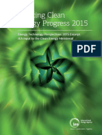 Tracking Clean Energy Progress 2015