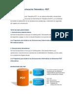 Programa de Declaración Telemática