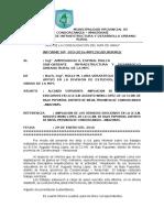 Informe Nº 003