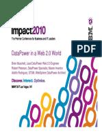 Datapower in Web20 World