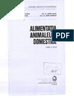 Alimentația Animalelor Domestice - Popa, Halga, Miloș, Bunicelu