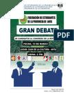 Reglamento Del Debate de Candidatos Al Centro Federado