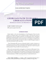 Georgian Path to EU Visa Liberalization