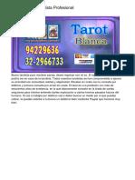 Marina Otero Tarotista Profesional
