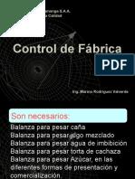 Control de Fabrica