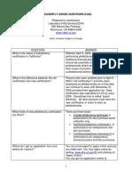 Phlebotomy FAQ071106
