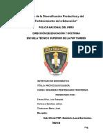 Policia Nacional Del Peru Protocolo