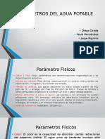 Parámetro Químicos