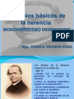 Monohibridismo y Dihibridismo