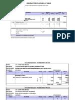 Presupuesto Ficha Reforzada Ad 010