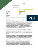 Ley Organica de Municipalidades Nro. 27972