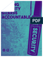 Holding Security Guards Accountable