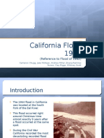 California Floods 1862 and 1964