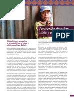 08 UNICEF Bolivia CK - Nota Conceptual - Proteccion