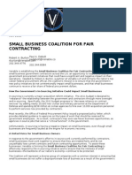 Venable Small Business Coalition Overview
