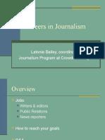 career in journalism short version