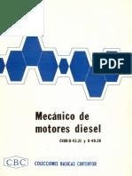 Colecciones Básicas Cinterfor (CBC) - Mecánico de Motores Diesel