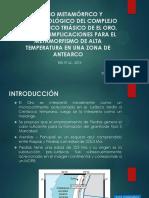ESTUDIO METAMÓRFICO Y GEOCRONOLÓGICO DEL COMPLEJO METAMÓRFICO TRIÁSICO DE EL ORO, ECUADOR
